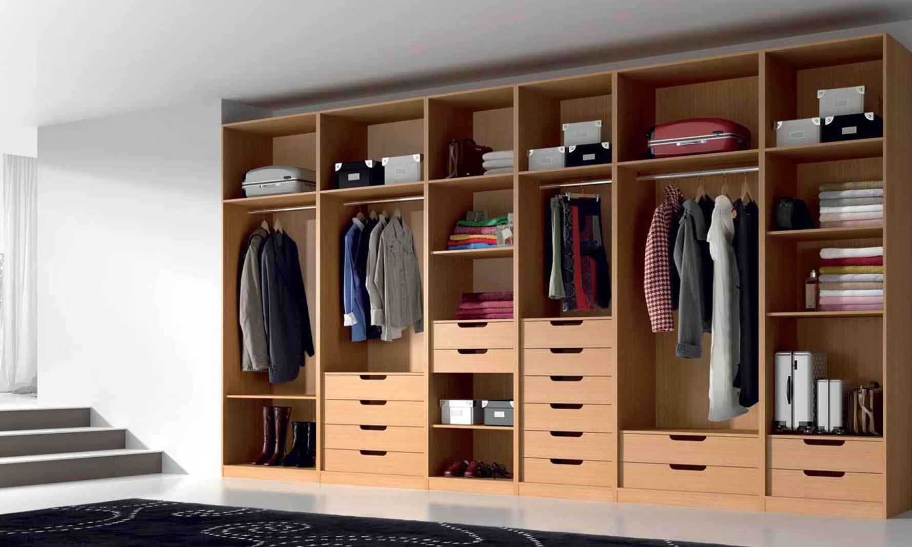 Mix design closets for Medidas closets modernos